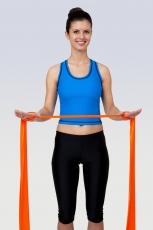 Gymnastikband, 5.5 m Rollen